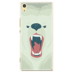 Plastové puzdro iSaprio - Angry Bear - Sony Xperia XA1 Ultra
