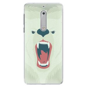 Plastové puzdro iSaprio - Angry Bear - Nokia 5
