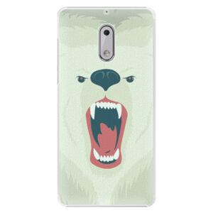 Plastové puzdro iSaprio - Angry Bear - Nokia 6