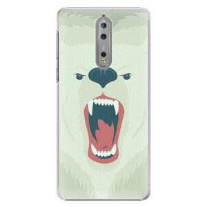 Plastové puzdro iSaprio - Angry Bear - Nokia 8
