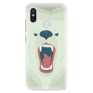 Plastové puzdro iSaprio - Angry Bear - Xiaomi Mi 8