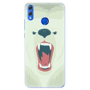 Silikónové puzdro iSaprio - Angry Bear - Huawei Honor 8X