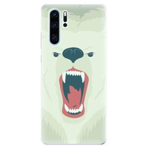 Odolné silikonové pouzdro iSaprio - Angry Bear - Huawei P30 Pro