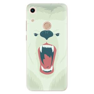 Odolné silikónové puzdro iSaprio - Angry Bear - Huawei Honor 8A
