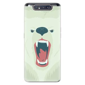 Odolné silikónové puzdro iSaprio - Angry Bear - Samsung Galaxy A80