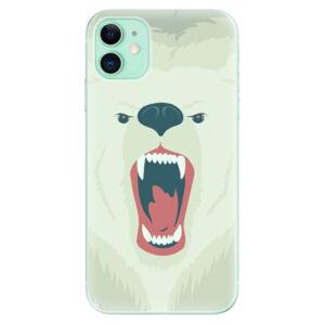 Odolné silikónové puzdro iSaprio - Angry Bear - iPhone 11