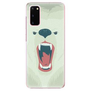 Plastové puzdro iSaprio - Angry Bear - Samsung Galaxy S20