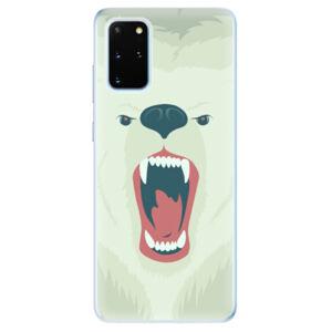 Odolné silikónové puzdro iSaprio - Angry Bear - Samsung Galaxy S20+