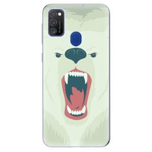 Odolné silikónové puzdro iSaprio - Angry Bear - Samsung Galaxy M21