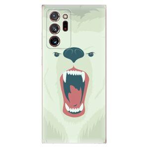 Odolné silikónové puzdro iSaprio - Angry Bear - Samsung Galaxy Note 20 Ultra