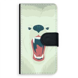 Univerzálne flipové puzdro iSaprio - Angry Bear - Flip XL