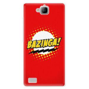Plastové puzdro iSaprio - Bazinga 01 - Huawei Honor 3C