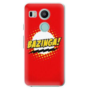 Plastové puzdro iSaprio - Bazinga 01 - LG Nexus 5X
