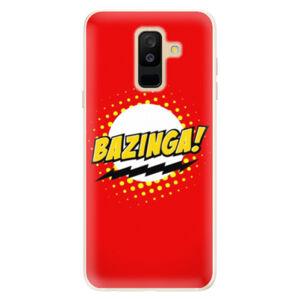 Silikónové puzdro iSaprio - Bazinga 01 - Samsung Galaxy A6+