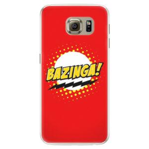 Silikónové puzdro iSaprio - Bazinga 01 - Samsung Galaxy S6 Edge