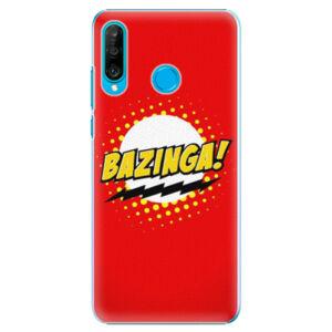 Plastové puzdro iSaprio - Bazinga 01 - Huawei P30 Lite