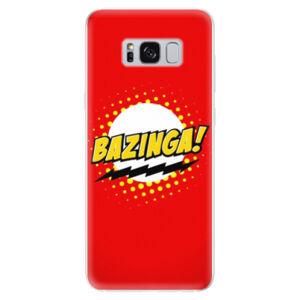 Odolné silikónové puzdro iSaprio - Bazinga 01 - Samsung Galaxy S8