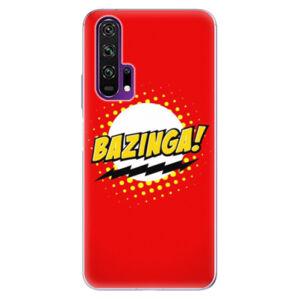 Odolné silikónové puzdro iSaprio - Bazinga 01 - Honor 20 Pro
