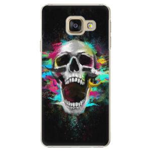 Plastové puzdro iSaprio - Skull in Colors - Samsung Galaxy A3 2016