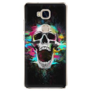 Plastové puzdro iSaprio - Skull in Colors - Huawei Honor 5X