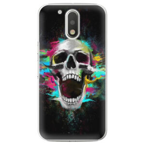 Plastové puzdro iSaprio - Skull in Colors - Lenovo Moto G4 / G4 Plus