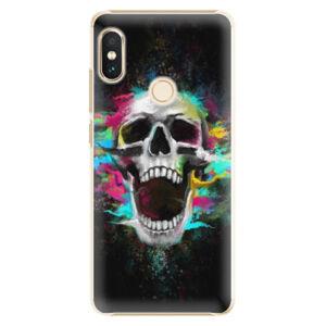 Plastové puzdro iSaprio - Skull in Colors - Xiaomi Redmi Note 5