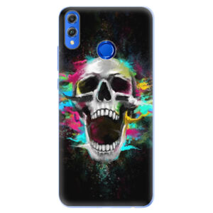Silikónové puzdro iSaprio - Skull in Colors - Huawei Honor 8X
