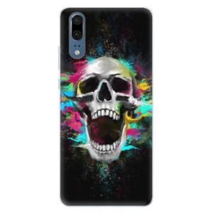Silikónové puzdro iSaprio - Skull in Colors - Huawei P20