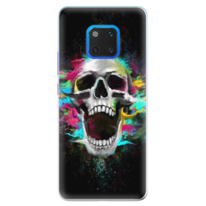 Silikónové puzdro iSaprio - Skull in Colors - Huawei Mate 20 Pro