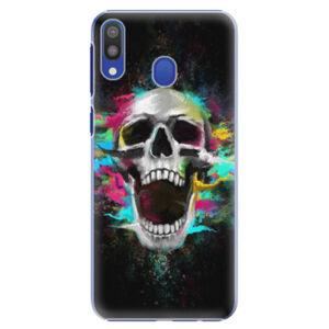 Plastové puzdro iSaprio - Skull in Colors - Samsung Galaxy M20