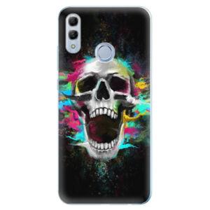 Odolné silikonové pouzdro iSaprio - Skull in Colors - Huawei Honor 10 Lite