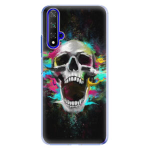 Plastové puzdro iSaprio - Skull in Colors - Huawei Honor 20