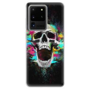 Odolné silikónové puzdro iSaprio - Skull in Colors - Samsung Galaxy S20 Ultra