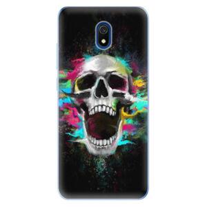 Odolné silikónové puzdro iSaprio - Skull in Colors - Xiaomi Redmi 8A