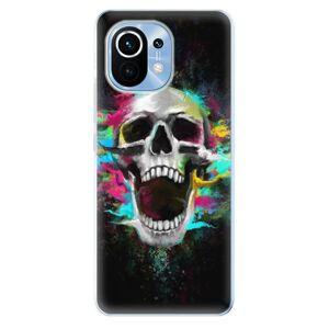 Odolné silikónové puzdro iSaprio - Skull in Colors - Xiaomi Mi 11