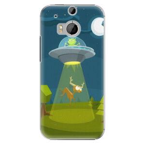 Plastové puzdro iSaprio - Alien 01 - HTC One M8