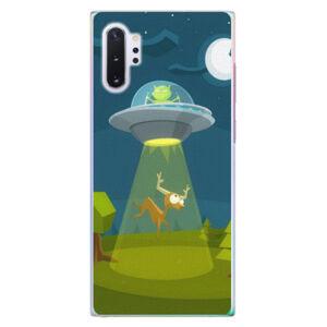 Plastové puzdro iSaprio - Alien 01 - Samsung Galaxy Note 10+