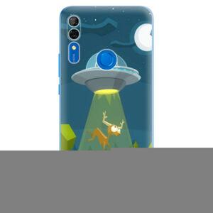 Odolné silikónové puzdro iSaprio - Alien 01 - Huawei P Smart Z