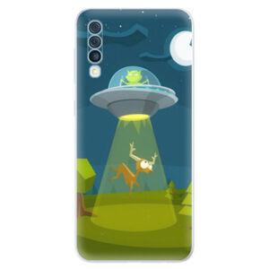 Odolné silikónové puzdro iSaprio - Alien 01 - Samsung Galaxy A50