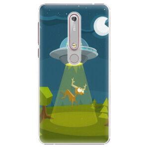 Plastové puzdro iSaprio - Alien 01 - Nokia 6.1