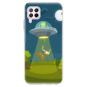 Plastové puzdro iSaprio - Alien 01 - Huawei P40 Lite