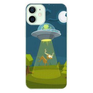 Plastové puzdro iSaprio - Alien 01 - iPhone 12 mini