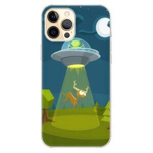 Odolné silikónové puzdro iSaprio - Alien 01 - iPhone 12 Pro Max