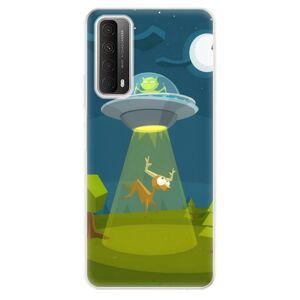 Odolné silikónové puzdro iSaprio - Alien 01 - Huawei P Smart 2021