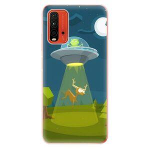 Odolné silikónové puzdro iSaprio - Alien 01 - Xiaomi Redmi 9T