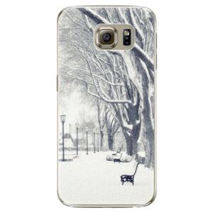 Plastové puzdro iSaprio - Snow Park - Samsung Galaxy S6 Edge Plus