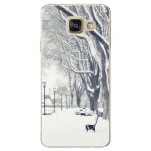 Plastové puzdro iSaprio - Snow Park - Samsung Galaxy A3 2016