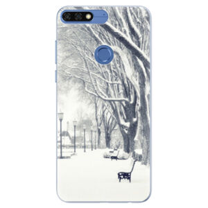 Silikónové puzdro iSaprio - Snow Park - Huawei Honor 7C