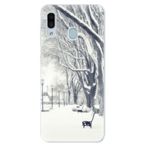 Silikónové puzdro iSaprio - Snow Park - Samsung Galaxy A30