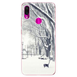 Odolné silikonové pouzdro iSaprio - Snow Park - Xiaomi Redmi Note 7